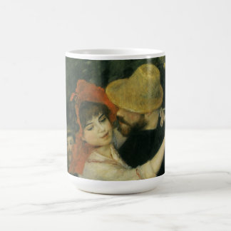 Vintage Impressionism, Dance at Bougival by Renoir Classic White Coffee Mug