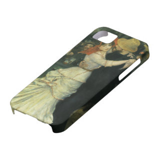 Vintage Impressionism, Dance at Bougival by Renoir iPhone 5 Case