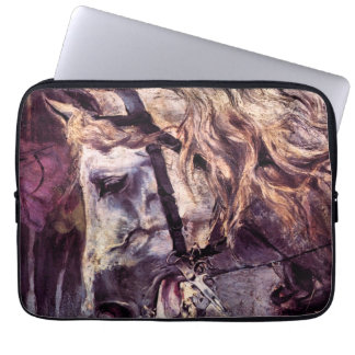 Vintage Impressionism, Head of a Horse by Boldini Laptop Computer Sleeve