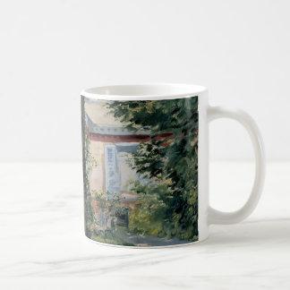 Vintage Impressionism, House at Rueil by Manet Coffee Mug