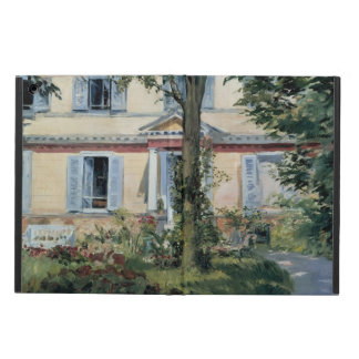 Vintage Impressionism, House at Rueil by Manet iPad Air Cases