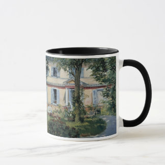Vintage Impressionism, House at Rueil by Manet Mug