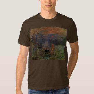 Vintage Impressionism, Impression Sunrise by Monet Tees