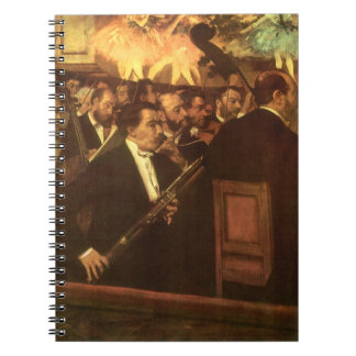 Vintage Impressionism, Orchestra of Opera by Degas Note Book