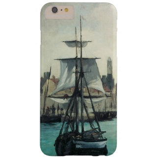 Vintage Impressionism, Port at Calais by Manet Barely There iPhone 6 Plus Case