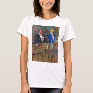 Vintage Impressionism, The Bar by Toulouse Lautrec T-Shirt
