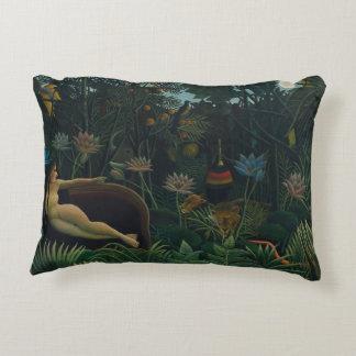 Vintage Impressionism, The Dream by Henri Rousseau Accent Pillow
