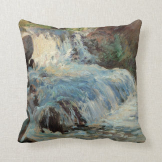 Vintage Impressionism, The Waterfall by Twachtman Pillow