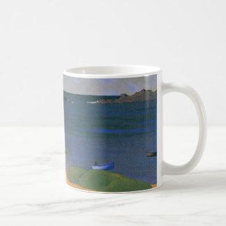 Vintage Impressionism, Tregastel Bay by Vallotton Coffee Mug