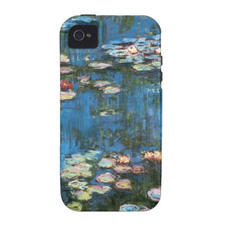 Vintage Impressionism, Waterlilies by Claude Monet iPhone 4/4S Covers