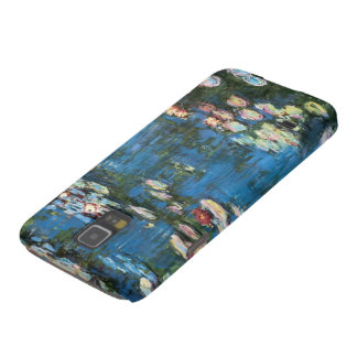 Vintage Impressionism, Waterlilies by Claude Monet Galaxy S5 Covers