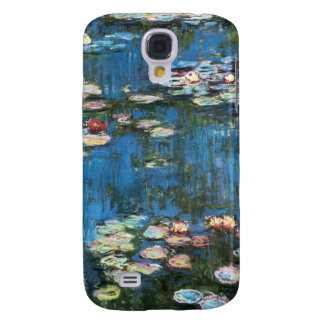 Vintage Impressionism, Waterlilies by Claude Monet Galaxy S4 Covers