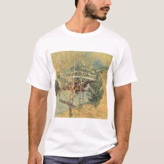 Vintage Impressionism, White Bridge by Twachtman T-Shirt