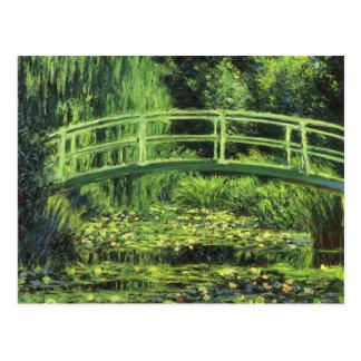 Vintage Impressionism, White Waterlilies by Monet Postcard