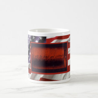 Vintage Independence Day, Firecrackers Coffee Mug
