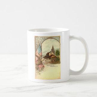 Vintage Independence Hall Coffee Mug