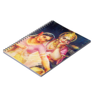 vintage india notebook