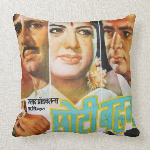Vintage India pillow