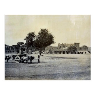 Vintage India, Ruins of the Residency Lucknow Postcard