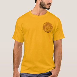 Vintage Indian 1933 Dollar Gold Coin Collector T-Shirt