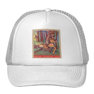 Vintage Indian Chewing Gum Frontier Lewis Wetzel Trucker Hat