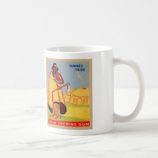 Vintage Indian Chewing Gum Pawnee Tribe Coffee Mug