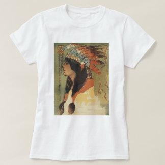 Vintage Indian Girl T-Shirt