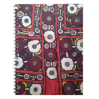 Vintage Indian Handmade Textile Print Note Book