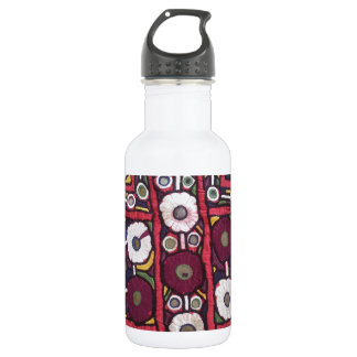 Vintage Indian Handmade Textile Print Stainless Steel Water Bottle