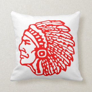 Vintage Indian Head Pillow