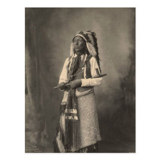 Vintage indian : Little Chief, Arapahoe - Postcard