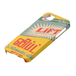 Vintage indian matchbox ads iPhone 5 cases