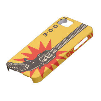 Vintage indian matchbox ads Pistol Brand iPhone 5 Cases