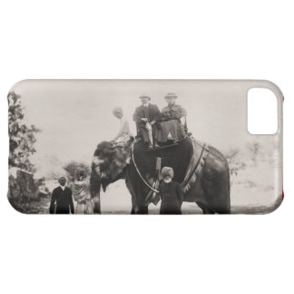 Vintage  Indian Raj, travelling by Elephant iPhone 5C Cover