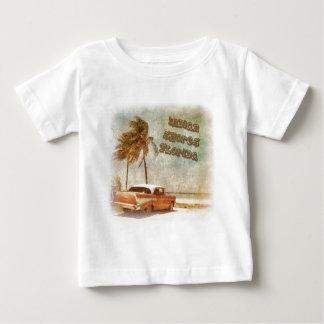 Vintage Indian Shores Beach Scene Baby T-Shirt