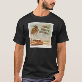 Vintage Indian Shores Beach Scene T-Shirt