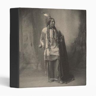 Vintage indian : Six Toes, Kiowa - 3 Ring Binder