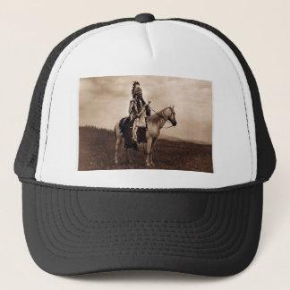 Vintage Indian War Chief Trucker Hat