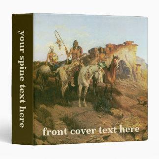 Vintage Indians, Prowlers of the Prairie, Seltzer, Binder