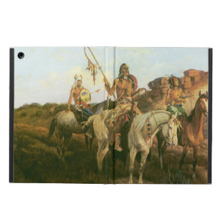 Vintage Indians, Prowlers of the Prairie, Seltzer, Cover For iPad Air