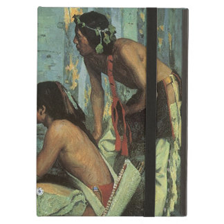 Vintage Indians, Taos Turkey Hunters by Couse iPad Air Case