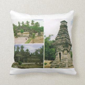 Vintage Indonesia, Java, templos de Penataran, Cojín