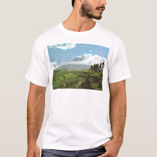 Vintage Indonesia, Temples and agriculture, Java T-Shirt