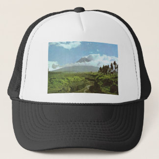 Vintage Indonesia, Temples and agriculture, Java Trucker Hat