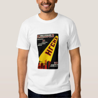 Vintage industrial soviet ad playera