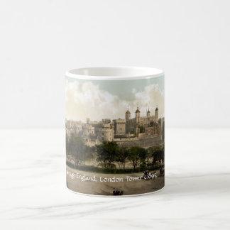 Vintage Inglaterra, torre de la taza de Londres