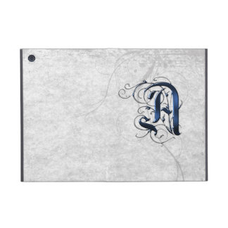 Vintage Initial A Cover For iPad Mini