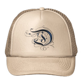 Vintage Initial D Trucker Hat