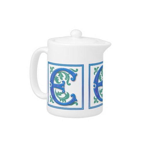 Vintage Initial E - Monogram E