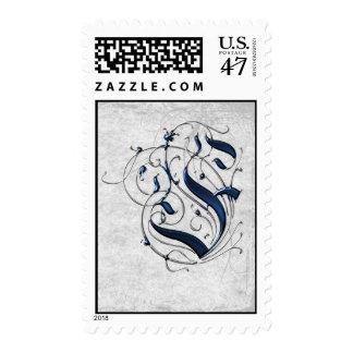 Vintage Initial F Stamp